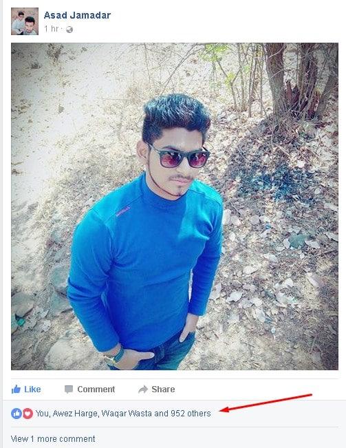 Facebook auto liker proof