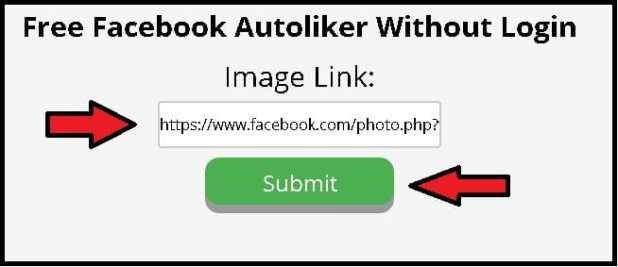 Facebook auto liker step 1