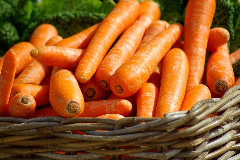 Carrots to relieve asthma