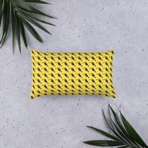101 Toucans Cushion Yellow