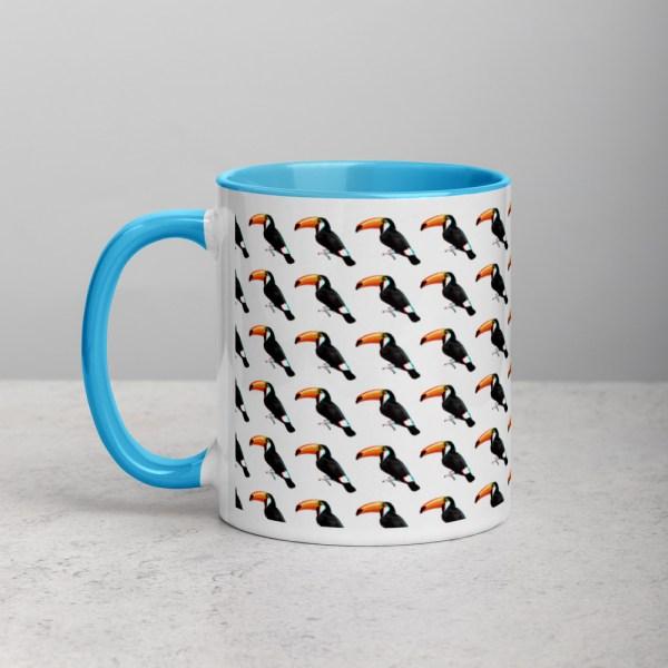 101 Toucans Blue/White Mug