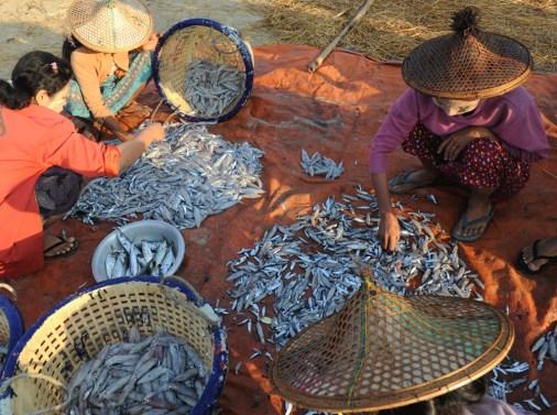 wioska rybacka - Birma (4)