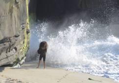 Big Splash - wybrzeże Pacyfiku pod San Diego (STANY ZJEDNOCZONE)