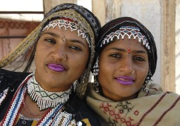 Tancerki z fortu Mehrangarh w Dźodhpur (INDIE)