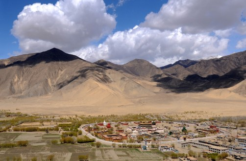 Klasztor Samje - Tybet (1)