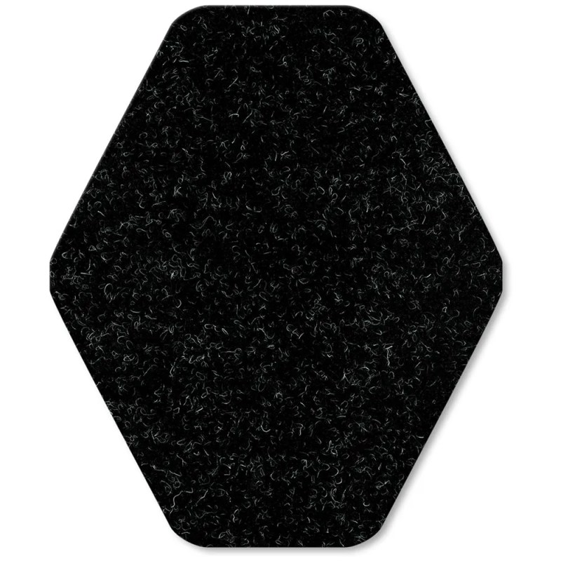 Black WizKid Diamond Antimicrobial Mat from WizKid Products