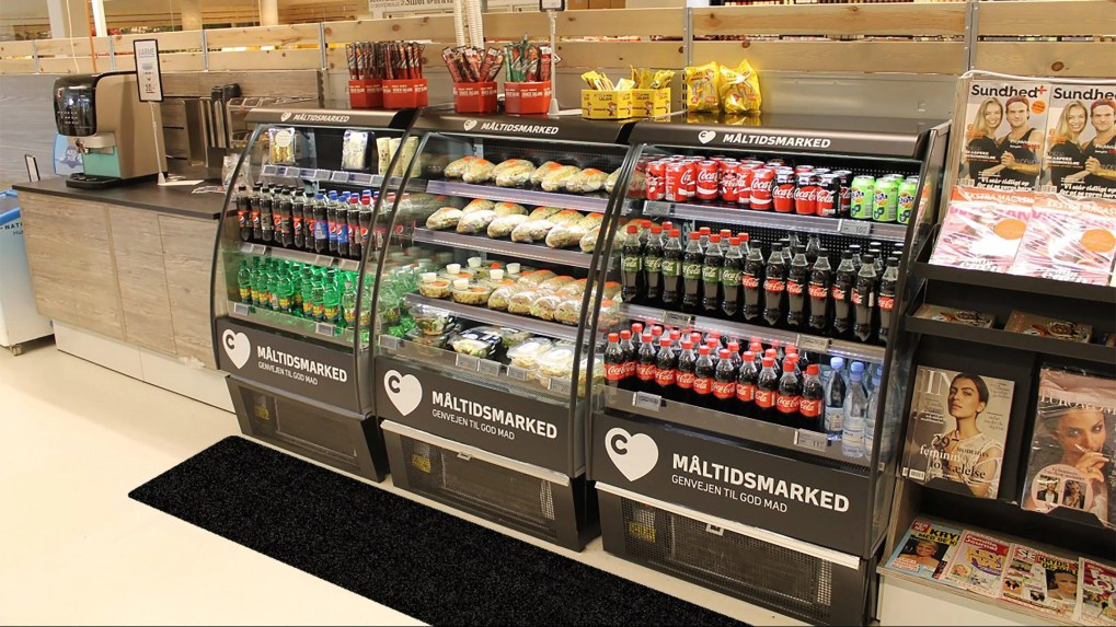 Convenience Store Quick Service Area With WizKid Products Antimicrobial Runner Mat