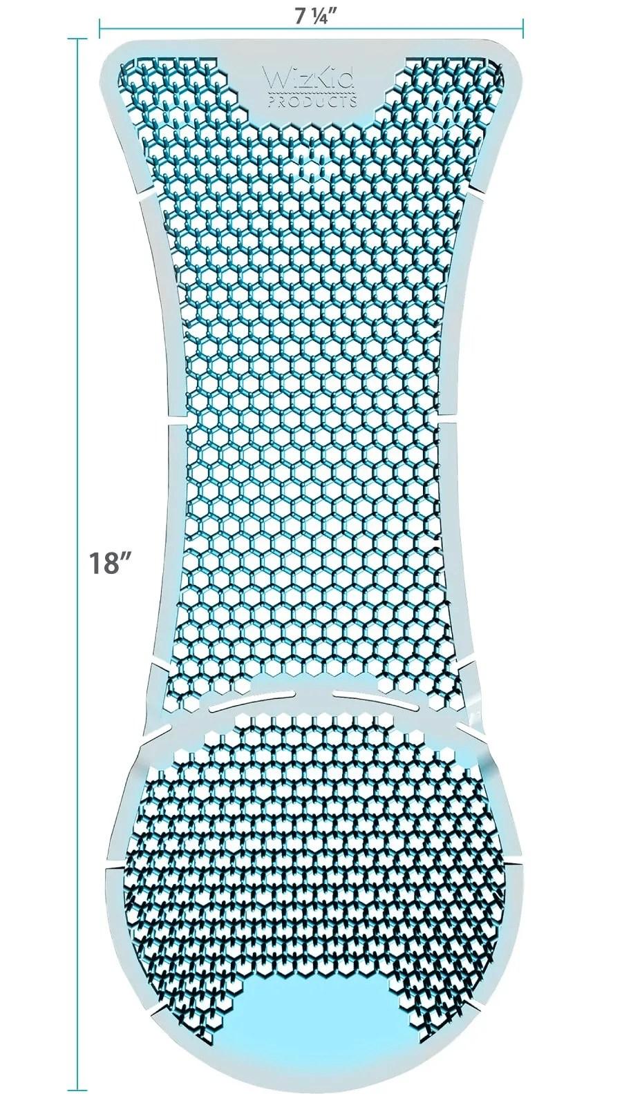 WizKid Products Splash Hog Vertical Urinal Screen Dimensions