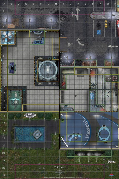 Resultado de imagen para heroclix map
