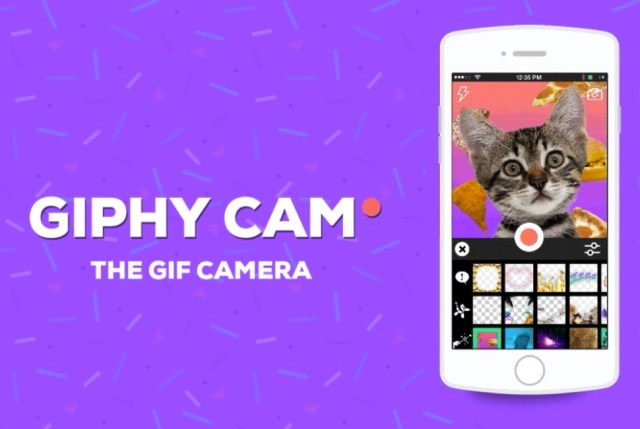 Giphy Cam helps you make insane GIFs out of everyday moments.