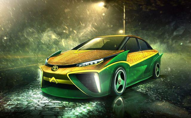 Aquaman – Toyota Mirai