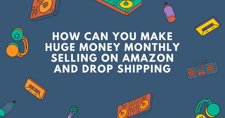 how to make money using amazon