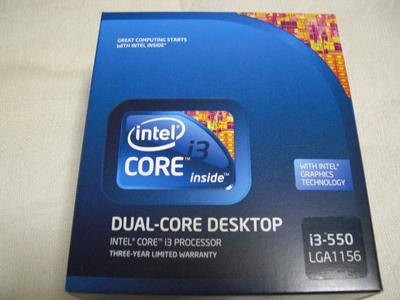 CPU (Core i3-550)