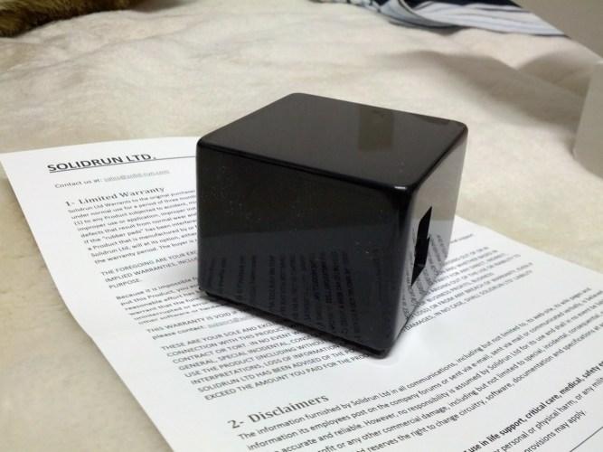 CuBox を購入した