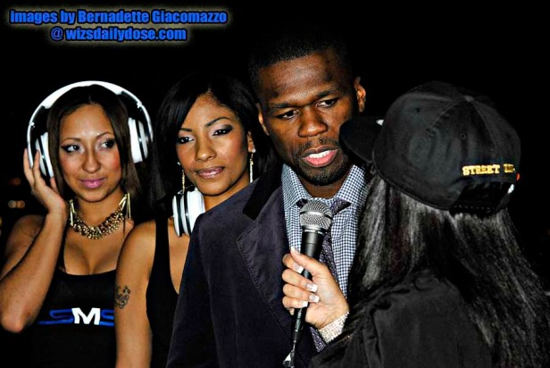50 Cent.web. Marabelle Blue and the Nikki Rich Models.Bernadette Giacomazzo.thewizsdailydose