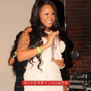Another award winner from last nights @urbanmodelawards it's @tierraferrari the CEO of @vixensmagazine