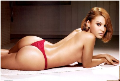 Sally-Ferreira-topless-laying-down-modeling-red-panties-for-Smooth-Girl-Magazine