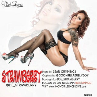 Demisha Robbins @de_strawberry - Show Magazine - Black Lingerie 003