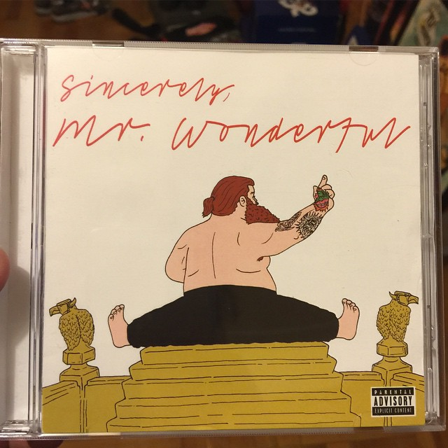 Action Bronson cover - Mr Wonderful