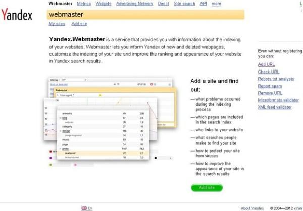Yandex.ru, Yandex.com: Best Search Engine: Russian, English