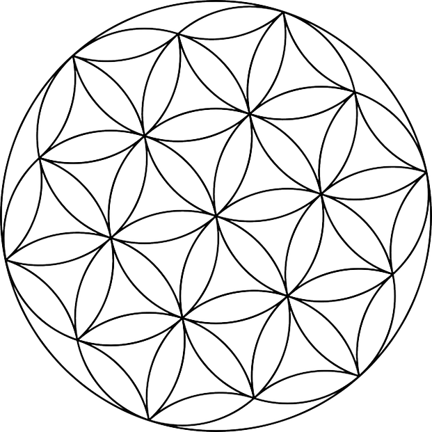 Geometric Coloring Books Pages