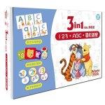 迪士尼DISNEY 幼兒益智教具:小熊維尼系列-3in1 GBL學習盒
