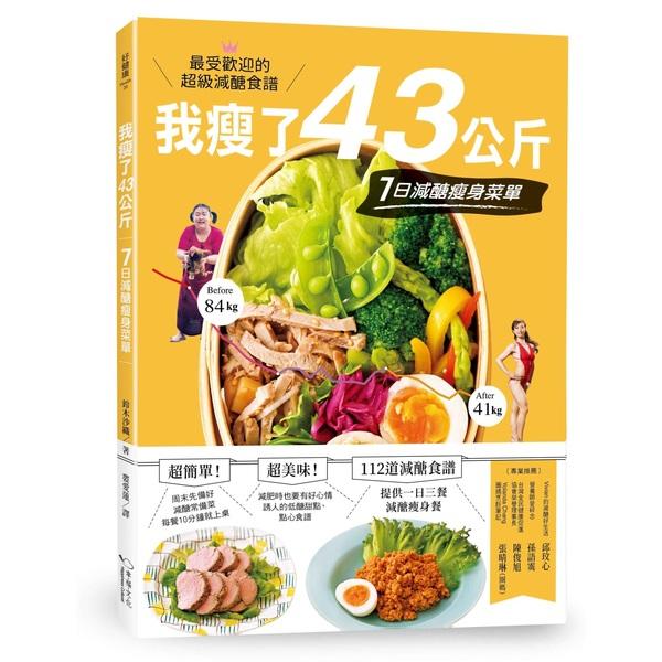 我瘦了43公斤,7日減醣瘦身菜單