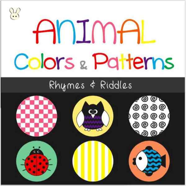 Animal Colors and Patterns: Rhymes and Riddles(繪本)