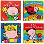 寶貝的第一套全英文繪本:I Am Going to Bed+I Am Going to School+It's My Birthday+Sweet Snouts