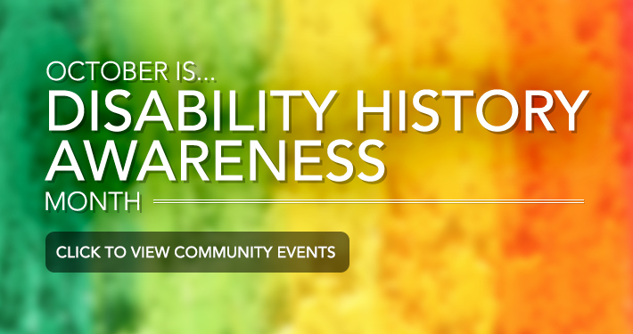 Disability History Awareness Month