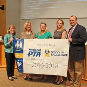 Lafayette High School and the Lafayette PTSA have been recognized as a 2016-18 National PTA School of Excellence