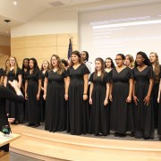 Warhill Honors Choir performs holiday medley