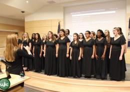 Warhill Honors Choir performs holiday medley