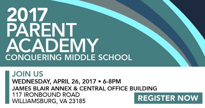 Parent Academy: Conquering Middle School