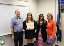 WJCC Honors Graduation Seal Recipient