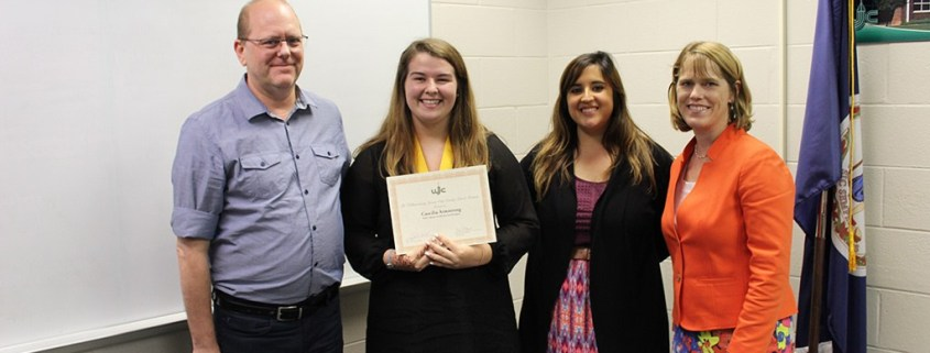 WJCC Honors Graduation Seal Recipient