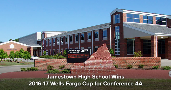 Jamestown High School Wins 2016-17 Wells Fargo Cup for Conference 4A