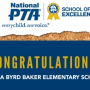Clara Byrd Baker Earns 2017-2019 National PTA School of Excellence