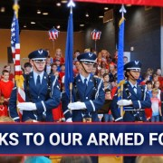 Thanks to our Armed Forces