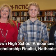 Jamestown High School Announces National Merit Scholarship Finalist, Nathaniel Baker