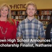 Jamestown High School Announces National Merit Scholarship Finalist, Nathaniel Baker