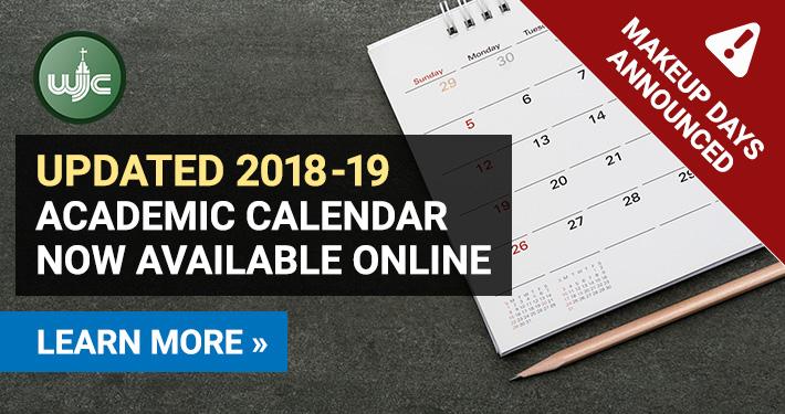 2018-19 Academic Calendar Online - Makeup Days