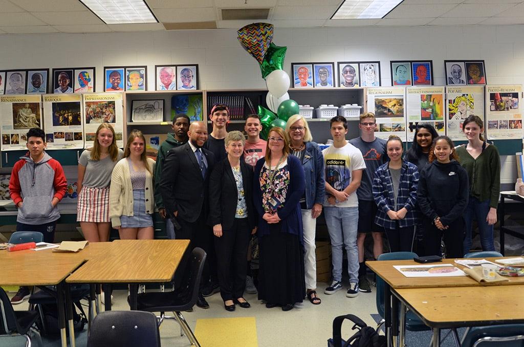 Melissa Furr - High Teacher of the Year