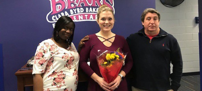 Rachel Samuels named 2019 Virginia Reading Teacher of the Year