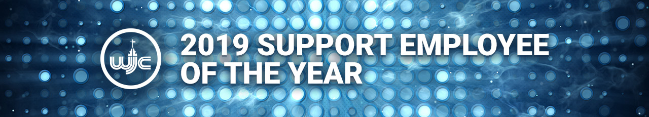 2019 Support Employee of the Year