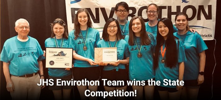 JHS Envirothon Team wins the State Competition!