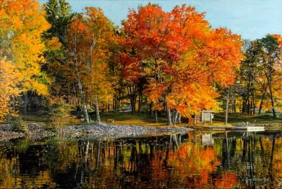 Autumn on the Severn