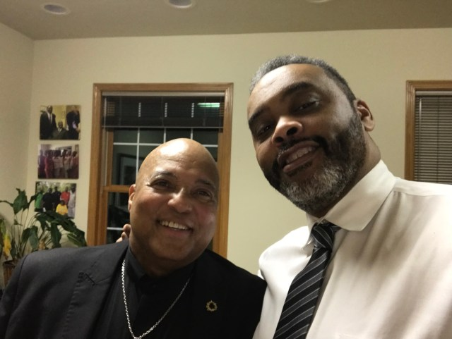 Pastors Pumphrey and Lanier