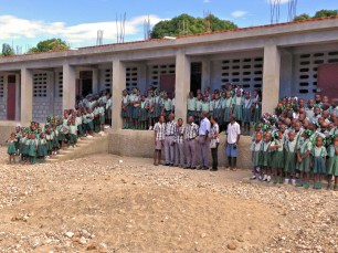 Children at School in Haiti