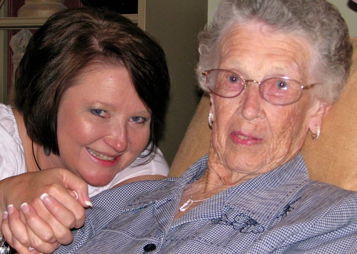 Pam and Granny